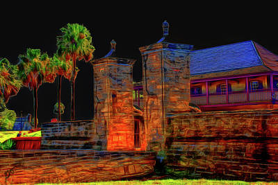 Photograph - City Gates Historic Saint Augustine Florida by Gina O'Brien