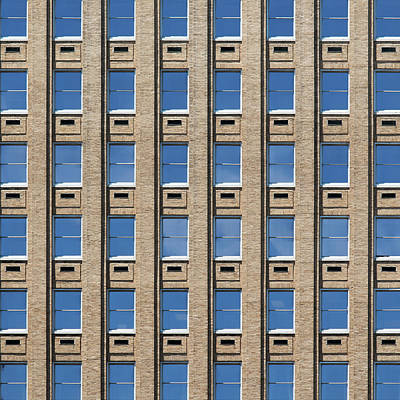Photograph - City Grids 10 by Stuart Allen