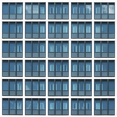 Photograph - City Grids 14 by Stuart Allen