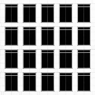 City Grids 19 Art Print