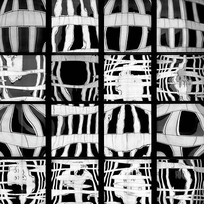 Photograph - City Grids 20 by Stuart Allen