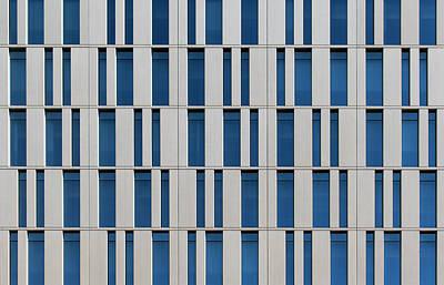 Photograph - City Grids 28 by Stuart Allen