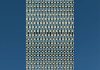 Photograph - City Grids 34 by Stuart Allen