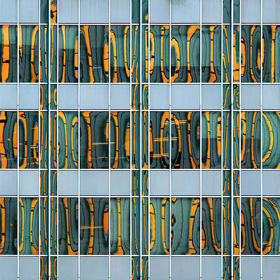 Photograph - City Grids 37 by Stuart Allen