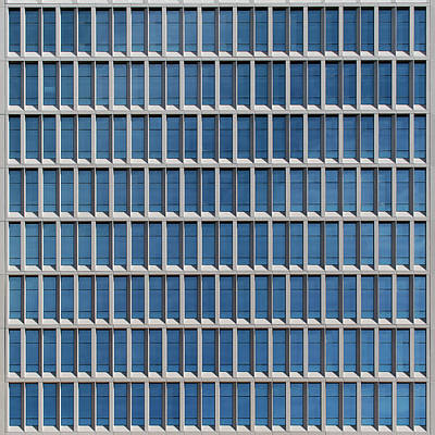 Photograph - City Grids 38 by Stuart Allen