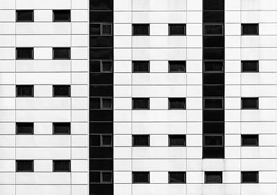 Photograph - City Grids 41 by Stuart Allen