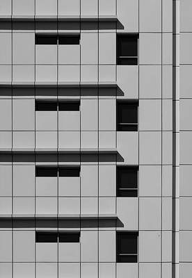 Photograph - City Grids 42 by Stuart Allen
