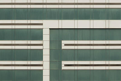 Photograph - City Grids 43 by Stuart Allen