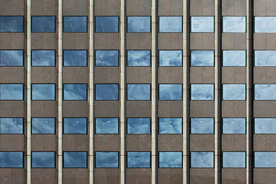Photograph - City Grids 50 by Stuart Allen