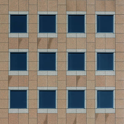 Photograph - City Grids 52 by Stuart Allen
