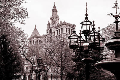 Central Park Photograph - City Hall by Az Jackson