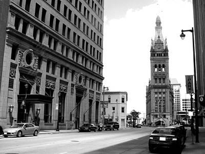 Photograph - City Hall B-w by Anita Burgermeister