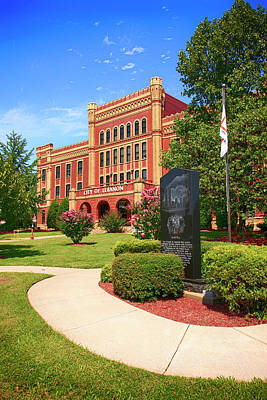 Photograph - City Hall Lebanon Tn, Usa by Chris Smith
