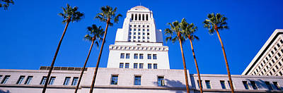 City Hall, Los Angeles, California Art Print by Panoramic Images