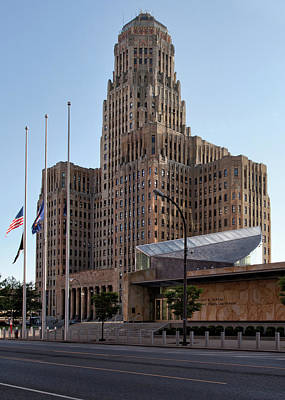 Buffalo City Hall Photograph - City Hall by Peter Chilelli