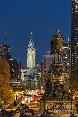 City Hall Philadelphia Art Print by John Greim
