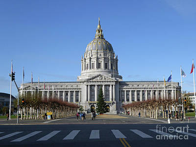 Photograph - City Hall by Steven Spak