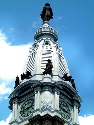 Photograph - City Hall William Penn by Andrew Dinh