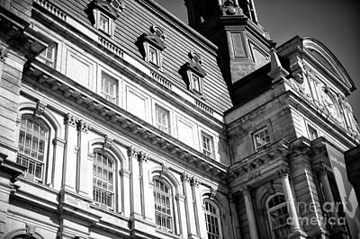 Photograph - City Hall Windows by John Rizzuto