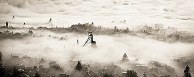 Photograph - City In The Clouds by Scott Wheeler