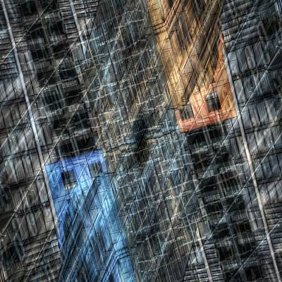 Photograph - City In Transition by Wayne Sherriff