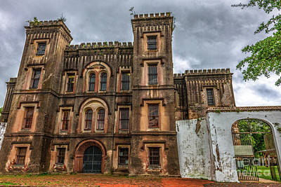Photograph - City Jail On Magazine Street In Charleston Sc by Dale Powell