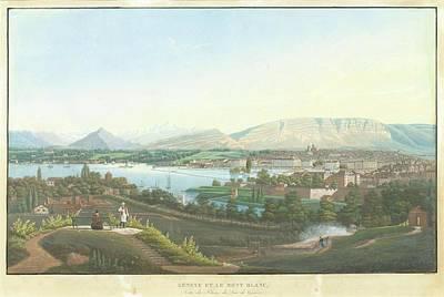 Dubois Painting - City by Jean Dubois