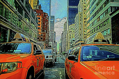 Photograph - City Life 19718 by Ray Shrewsberry