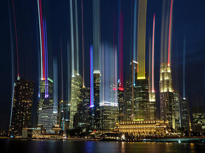 Photograph - City Lights by Andrew Kow