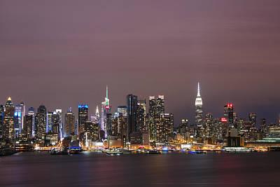 Photograph - City Lights by Elvira Pinkhas