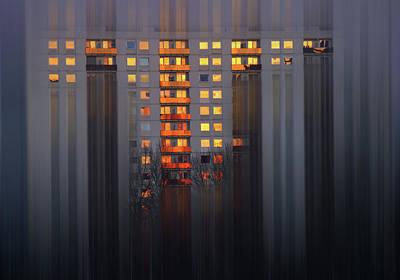 Photograph - City Lights by Erik Tanghe