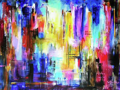 City Lights Original by Kathleen Patrick
