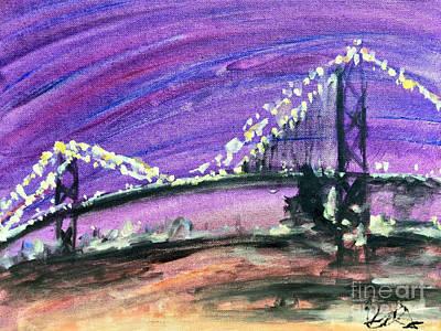 City Lights Original by Keri Ramus