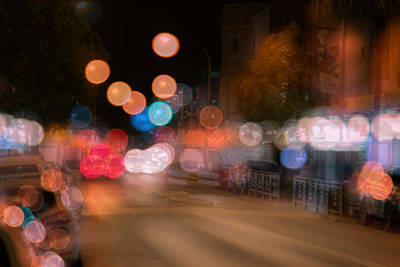 Photograph - City Lights by Nicholas Blackwell