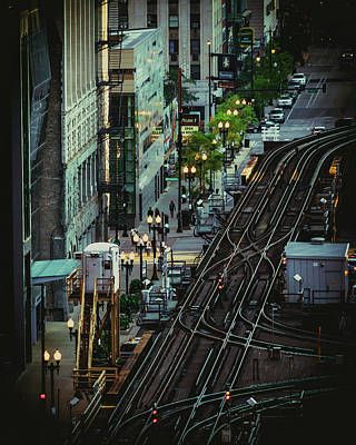 Photograph - City Lines by Nisah Cheatham