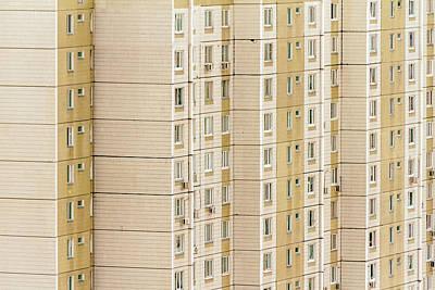 City Monotony Art Print by Stelios Kleanthous