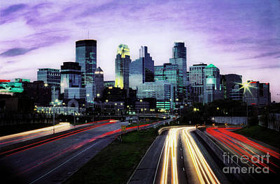 Art Print featuring the photograph City Moves by Scott Kemper