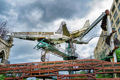 Photograph - City Museum Outdoor Sculpture by Robert FERD Frank