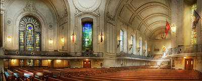 Photograph - City - Naval Academy - God Is My Leader by Mike Savad