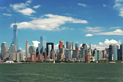 Photograph - City - New York Ny - The New York Skyline by Mike Savad