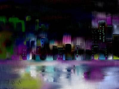 City Nights Original by Frank Bright