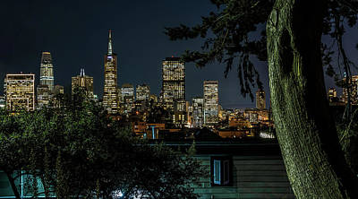 Photograph - City Nights by Janet Kopper
