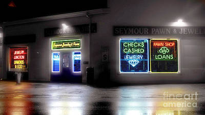 Photograph - City Nights by Raymond Earley
