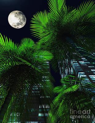 City Nights Art Print by Richard Rizzo
