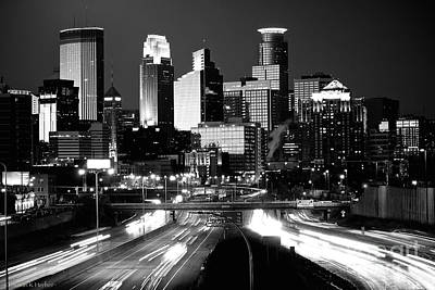 Photograph - City Nights by Susan Herber