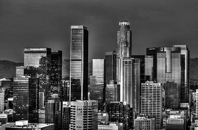Photograph - City Of Angels Bw by Michael Damiani
