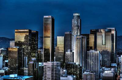 Photograph - City Of Angels Tm by Michael Damiani