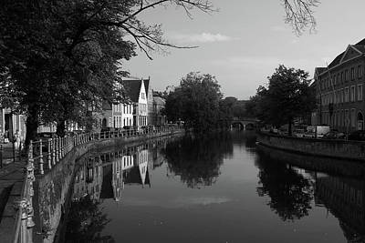 Photograph - City Of Bruges, Belgium by Aidan Moran