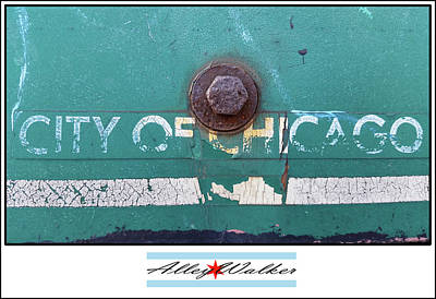 Photograph - City Of Chi 1 by Zac AlleyWalker Lowing