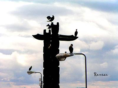 Photograph - City Of Cormorants by Sadie Reneau